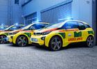 Záchranáři budou jezdit v BMW i3. S omezeným dojezdem se netrápí