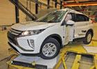 Euro NCAP 2017: Mitsubishi Eclipse Cross – Pět hvězd s dobrou ochranou chodců