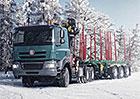 Tatra jako ideální společník pro lesní práce