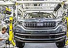 Česká výroba aut pořád roste, hodně se daří Škodě a Tatře