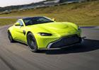 Nový Aston Martin Vantage je tu. S motorem Mercedesu a elektronickým diferenciálem
