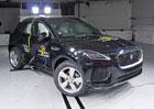 Euro NCAP 2017: Jaguar E-Pace – Pět hvězd i s malým tlakem v airbagu