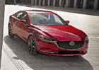 Mazda ukázala omlazenou šestku. Největší novinku zabalila do známého balení