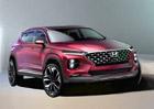 Nový Hyundai Santa Fe na dalších snímcích. Konkurent Kodiaqa bude hodně výrazný