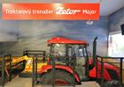 Trenažér traktoru značky Zetor si lze vyzkoušet v Národním zemědělském muzeu