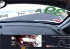 To bylo o fous! Závodník v rychlosti 200 km/h bravurně zkrotil auto před takřka jistou nehodou