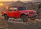 Jeep Gladiator prozrazen. Známe podobu nového Wrangleru pick-up i jeho motory