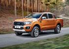 Ford Ranger přijíždí v modernizované podobě. Pětiválec střídá za čtyřválec